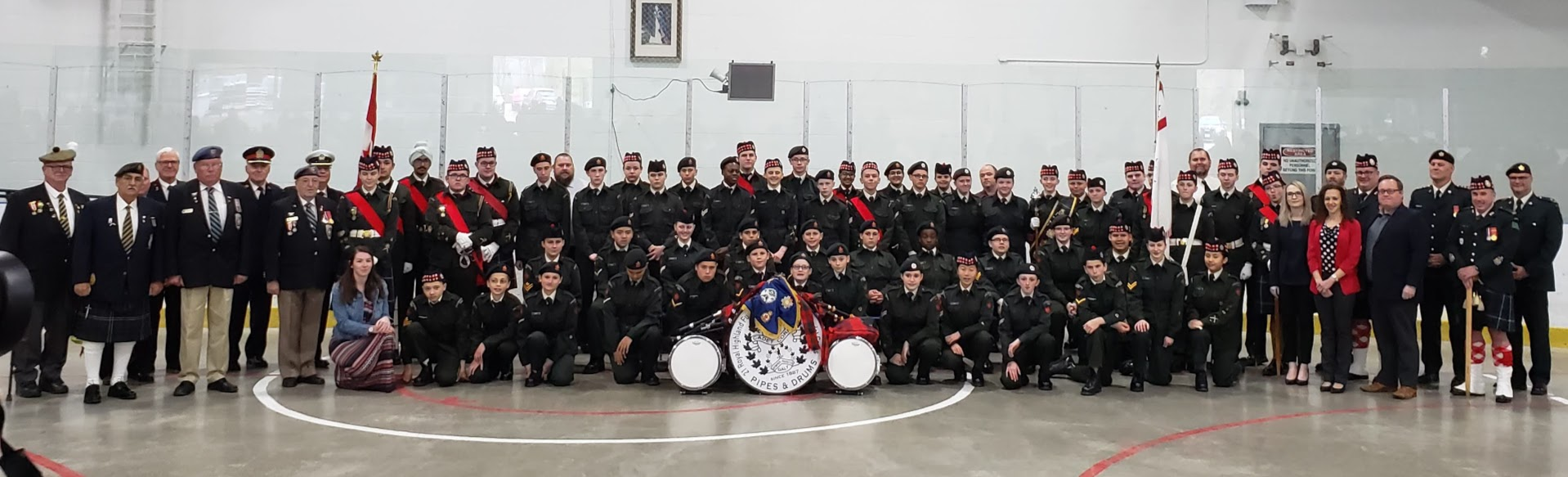 21 Royal Highland Fusiliers of Canada at  Annual Ceremonial Review - May 12th, 2019